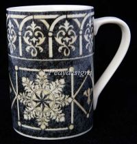222 Fifth PTS SAN MARCO Snowflake Coffee Mug