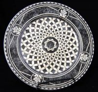222 Fifth PTS SAN MARCO Spherical Salad Plate