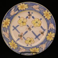 Allied Imex HONEY BEE Dinner Plate - Handpainted Unique