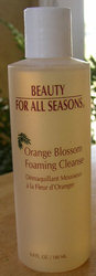Beauty for All Seasons Orange Blossom Foaming Cleanse 6oz