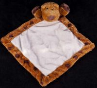 Aurora People Pals Brown Spotted Dog Plush Lovey Security Blanket