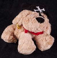 Babystyle Puppy Dog Pirate Plush Lovey