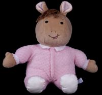 Eden Arthur's Sister Baby KATE Pink Thermal Body Plush Lovey Doll Marc Brow