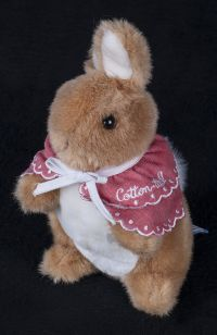 Eden World of Peter Rabbit Flopsy Mopsy Cotton Tail Plush Lovey