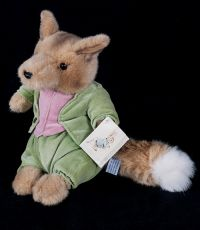 Eden World of Peter Rabbit Foxy Whiskered Gentleman Plush Lovey