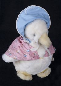 Eden World of Peter Rabbit Jemima Puddle Duck Plush Lovey
