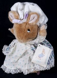 Eden World of Peter Rabbit Lady Mouse Plush Lovey