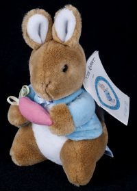 "Eden World of Peter Rabbit 7"" Plush Lovey"