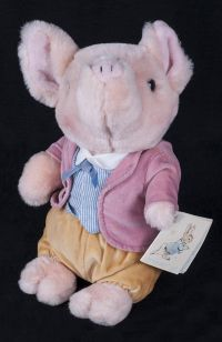 Eden World of Peter Rabbit Pigling Bland Pig Plush Lovey