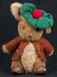 Eden Peter Rabbit Benjamin Green Beret Plush Lovey