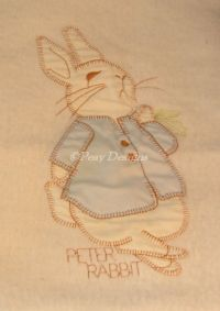 Beatrix Potter PETER RABBIT Quiltex Security Blanket