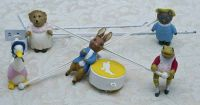 Eden Beatrix Potter Peter Rabbit Musical Mobile Vintage 1976