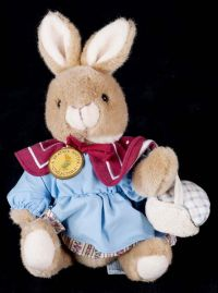 Eden Peter Rabbit Mopsy Jointed Arms Legs Plush Lovey