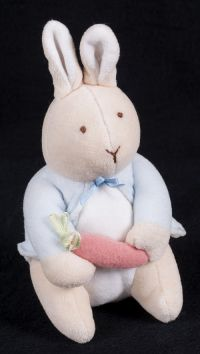 Eden Peter Rabbit My First Peter Pastel Lovey Doll Lovey Toy 7.5""