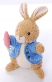 Eden Beatrix Potter PETER RABBIT Lovey Nappy Doll Plush Toy