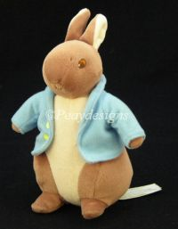 Eden Beatrix Potter PETER RABBIT Lovey Doll Toy