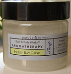 Aromatherapy Sugar Scrub 'Sweet Bay Rose' 2oz