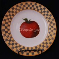 Block COUNTRY ORCHARD Apple Salad Plate