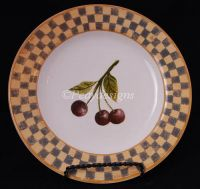 Block COUNTRY ORCHARD Cherry Salad Plate