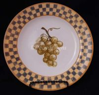 Block COUNTRY ORCHARD White Grapes Salad Plate