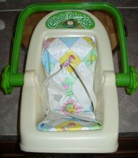 Cabbage Patch Kids Car Seat 1983 NO PADDING