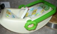 Cabbage Patch Kids Car Seat 1983 w/Pad