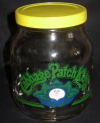CPK Cabbage Patch Kids Original CANDY COOKIE JAR - 1984