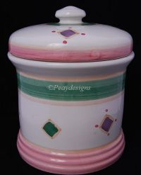 Caleca BELVIDERE Cookie Jar Canister - Made in Italy