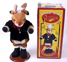Animated Musical Dancing RUDOLPH Reindeer Christmas