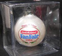 Merle Harmon's FAN FAIR 1994 NBA Glass Ornament
