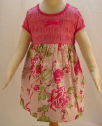 Baby Lulu CHINA ROSE Dress Girls Sz 12 mo