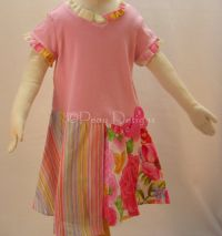 Baby Lulu WILD ROSE Shirt Dress Girls Sz 2T