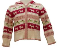 Hartstrings Christmas SCOTTIE DOGS Hooded Sweater Sz 2T