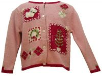 Hartstrings Christmas SCOTTIE DOGS Sweater Sz 2T NWT