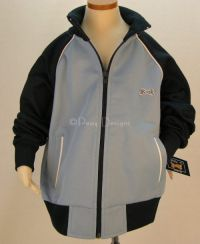 Le Tigre THE CLASSIC Athletic Track Jacket BLUE 2T - NEW