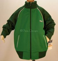 Le Tigre THE CLASSIC Athletic Track Jacket Green - NEW