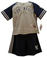 NY YANKEES JETER 2pc Outfit Sz 7 6 5 4 NEW