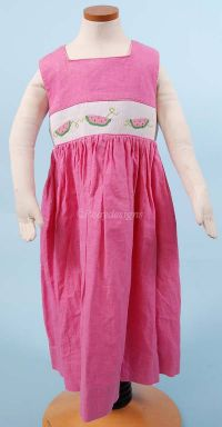 Simi Boutique Hand SMOCKED WATERMELON Girls Dress Girl 4T