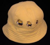 Gymboree ON THE POND Yellow Hat Infant Sz 3-6 Mo
