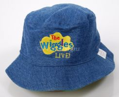 Wiggles DOROTHY THE DINOSAUR Live Show Reversible HAT