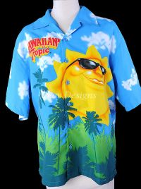 HAWAIIAN TROPIC Sun Shirt Mens - NEW