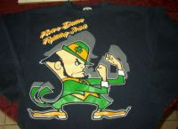 Notre Dame FIGHTING IRISH Sweatshirt Sz XL - Vintage