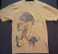 AFRICAN WILDLIFE Everything Ethnic Tshirt Sz XS - NEW
