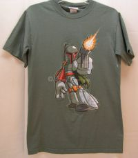 Disney Star Wars BOBA FETT Tshirt Sz Sm NEW