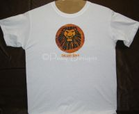 Lion King Broadway Musical TEXAS EDITION Tshirt Sz Medium