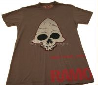 Ramones HERE TODAY GONE TOMARROW Skull Tshirt Sz S NEW