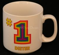 #1 DIETER Coffee Mug - Papel
