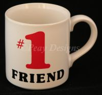 #1 FRIEND Coffee Mug - Papel