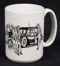 "Al Capone ""There are No Gangsters in Chicago"" Coffee Mug"