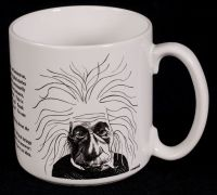 Albert Einstein Caricature Steven Cragg Coffee Mug